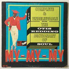 Otis Redding Dictionary Of Soul LP Vinyl Record Album Volt