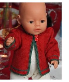 Baby born patronen gratis 34 new ideas Knitted Doll Patterns, Doll Patterns Free, Knitted Dolls, Doll Clothes Patterns, Baby Knitting Patterns, Free Knitting, Baby Born Clothes, Bitty Baby Clothes, Baby Born Kleidung