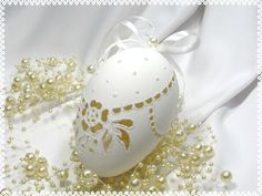 Check out our ornaments & accents selection for the very best in unique or custom, handmade pieces from our shops. Types Of Eggs, Carved Eggs, Faberge Eggs, Egg Art, Egg Decorating, Vintage Decor, Easter Eggs, Christmas Bulbs, Carving