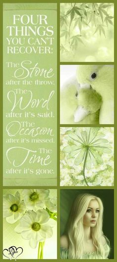 Quote in Honeydew Green