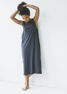 Lacausa - James Dress in Velvet