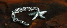 The trusty Shetland Sand Cast Starfish made as a key fob here.  £78.00