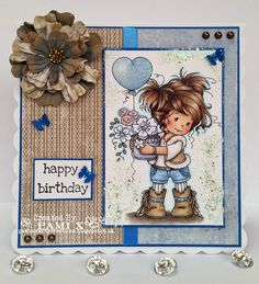 Pami's Crafty Creations: December Birthday - Moving Along With The Times
