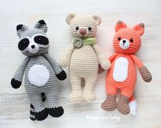 Cuddle Me Toy Collection - Free crochet patterns