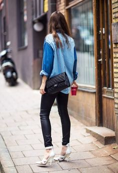 Denim shirts for fall