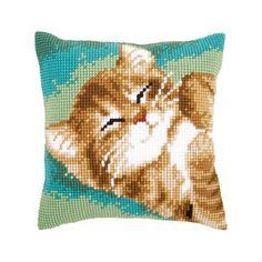 "Needlepoint//Tapestry Pillow Cover DIY Kit /""Horse/"""
