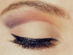 Lined and defined eyes that don't smudge and smear. Go waterproof!
