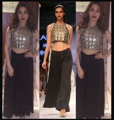 WOW! Tamannaah Glitters In Gold Payal singhal Creation...Check it out !