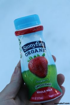 On-the-go with Stonyfield's new Whole Milk Smoothies -  #stonyfieldblogger #sp