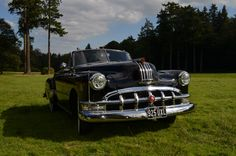 Monty the Pontiac is our 1950's Pontiac chieftain he featured on the C4 grease night recently with Alan Carr and a wedding on the south coast, come find us on facebook @Monty1950pontiac