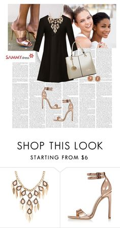 """Sammydress 12/1"" by worldoffashionr ❤ liked on Polyvore featuring Charlotte Russe, River Island and sammydress"