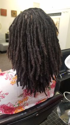 Natural Dreads, Natural Hair Twists, How To Grow Natural Hair, Natural Hair Updo, Natural Hair Styles, Dreadlock Styles, Dreadlock Hairstyles, Twist Hairstyles, Black Hairstyles