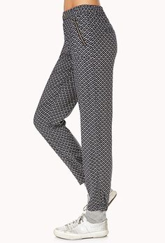 Mod Geo Woven Joggers | FOREVER 21 - 2000063354