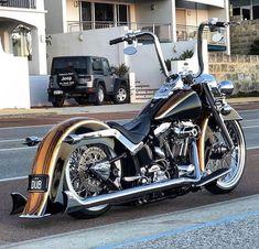 Harley Bikes, Harley Davidson Motorcycles, Custom Motorcycles, Custom Bikes, Chicano, Bagger Motorcycle, Old School Chopper, Harley Softail, Custom Harleys