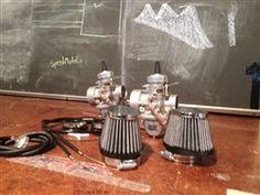 vm30 mikuni carburetor kit cb350 cl350 sl350 Kit intakes 2-1 cable