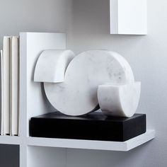 Rounded Marble Sculpture