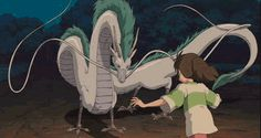 Haku - Spirited Away | 20 Most Adorable Supporting Hayao Miyazaki Creatures