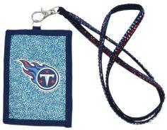Tennessee Titans Beaded Lanyard Wallet #TennesseeTitans