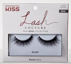 Kiss Lash Couture Faux Mink Collection in Boudoir
