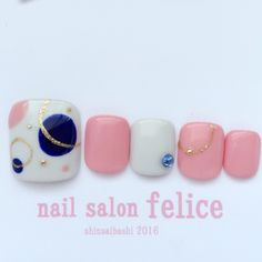 Nails toe design manicures Ideas for 2019 Cute Pedicure Designs, Elegant Nail Designs, Toe Nail Designs, Pretty Toe Nails, Cute Toe Nails, Toe Nail Art, Aloha Nails, Feet Nail Design, Japan Nail