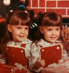 My twin dollies at 4... Love them like crazy!!