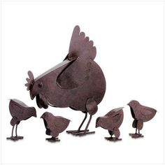 Metal Chickens