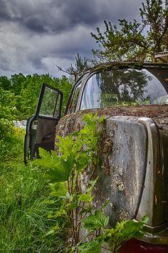 Car Graveyard in Sweden