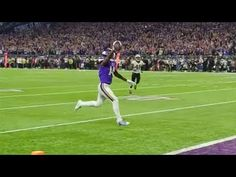 Get the sideline look, plus reaction afterward, of Stefon Diggs' game-ending touchdown from Sunday vs. the Saints. For more Vikings videos, visit htt. City Iphone Wallpaper, Nfl Highlights, Stefon Diggs, Minnesota Vikings Football, New Orleans Saints, Football Players, Minneapolis, Sports, Sport