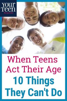 Teenage Behaviour, Toddler Behavior, Activities For Teens, Family Activities, Challenge For Teens, Raising Teenagers, Teen Boys, Tween, Teaching Skills