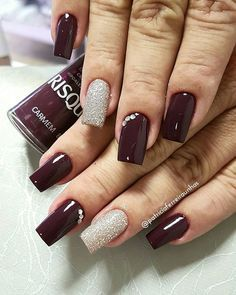 99 Impressive Nail Polish Style Ideas For Winter This Year Although women tend to neglect their nails during the colder months, it is the most important time to take care […] Fabulous Nails, Gorgeous Nails, Love Nails, Fun Nails, Nail Art Designs, Nails Design, Nail Polish Style, Gel Nagel Design, Matte Nail Art