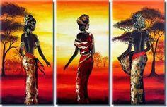 Resultado de imagen para africanas en ceramica