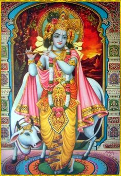 "Shri Krishna said: ""Although I am unborn and My transcendental body never deteriorates, and although I am the Lord of all living entities, I still appear in every millennium in My original transcendental form.""~Bhagavad gita as it is 4.6 To order a copy of ""Bhagavad Gita as it is"":http://store.krishna.com/Detail.bok?no=2325&bar=_shp_bbt"