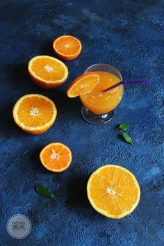 Świeży sok z pomarańczy i innych cytrusów
