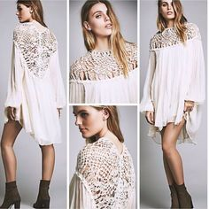 Limited Edition Free People Dress Nwt!