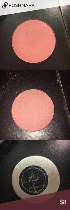 Makeup geek blush pan in heart throb Gently used. Not my shade. makeup geek Makeup Blush