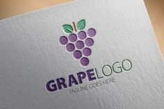 Check out Grape Logo by samedia on Creative Market