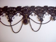 Black Gothic Choker Halloween