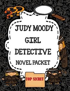Judy Girl Detective (Megan McDonald) - Novel Study Packet