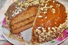 Торт «Аленка» со сгущенкой в мультиварке