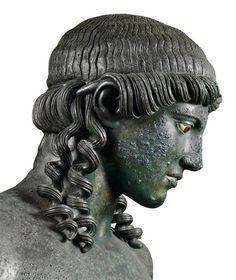 Apollo Kitharoedus, from the Casa del Citarista, late 1st century B.C. From Pompeii. Museo Archeologico Nazionale, Naples