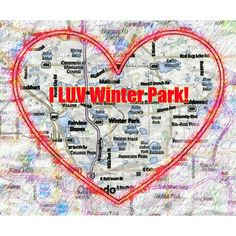 I LUV Winter Park!  I know, I know, everyone does! #iluvwinterpark #iluvparkavenue
