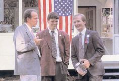 The first American in Europe: Jerry O. at Ketchum Munich 1989.