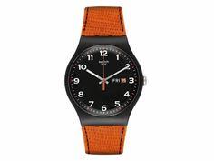 Reloj Swatch SSUOB709 New Gent Naranja Unisex-Liverpool es parte de MI vida