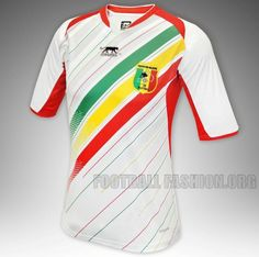 Mali Airness 2013 Africa Cup of Nations Home Jersey