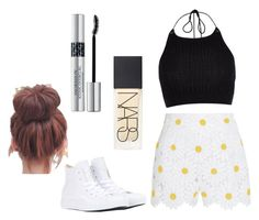 """""""Untitled #14"""" by danielle-bell-i on Polyvore featuring Dolce&Gabbana, River Island, Converse, NARS Cosmetics and Christian Dior"""