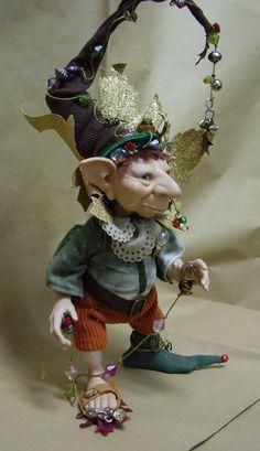 Numio-Ark del vento, Fate Folletti di Porcellana - Gnomi Folletti Elfi di Avalon - Personaggi in porcellana di Bisquit Altezza: circa 40/45cm.