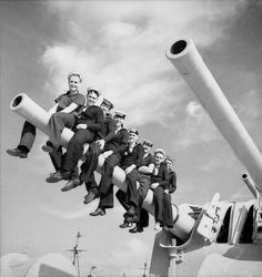 Unidentified sailors on HMAS Perth (Australia).