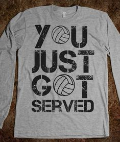 Haha - if you know my serve you know this is true!