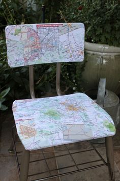 CO map chair