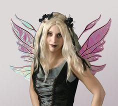 Azarelle Iridescent Fairy Wings in your color by TheFancyFairy, $79.00